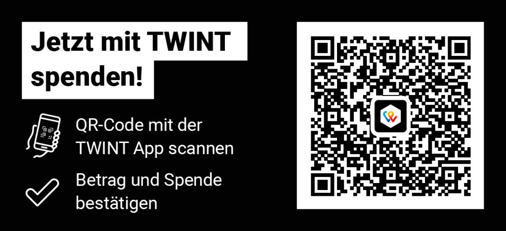 Twint QR Code Spende